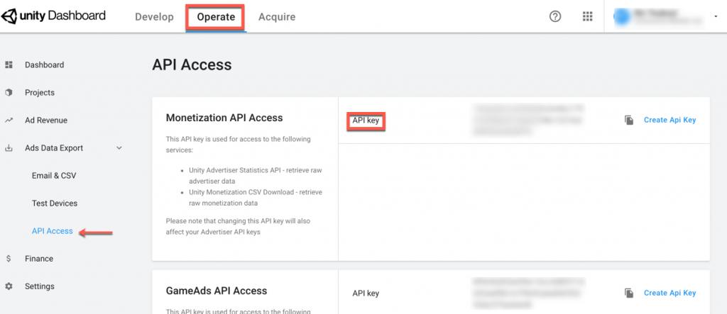 unityads-api-key-account-level