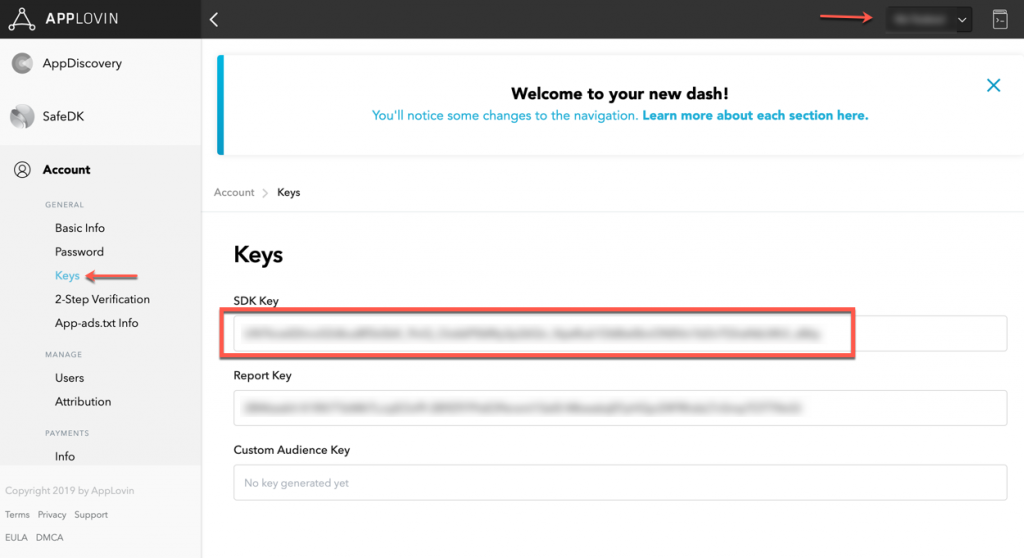 sdk-key