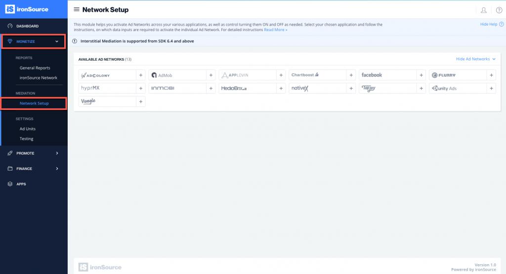 UnityAds Mediation Integration Guide for SDK 6.4 and Below ...