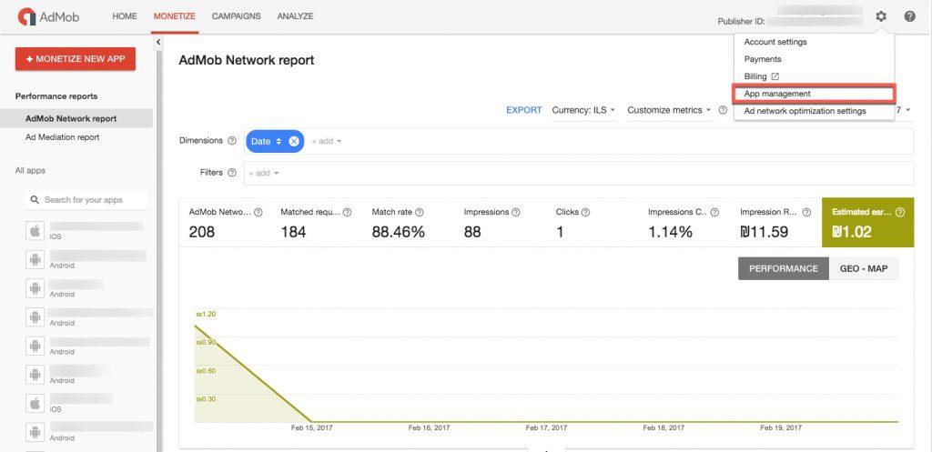 ironsource-dashboard-admob-app-management