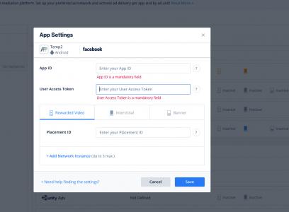 facebook-setup-ironsource