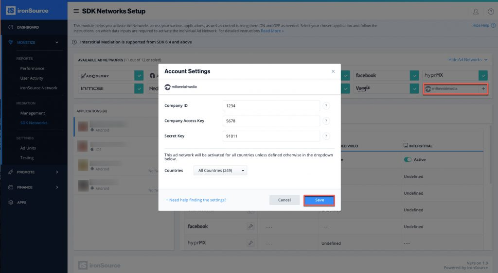 ironsource-mediation-platform-mm-account-settings