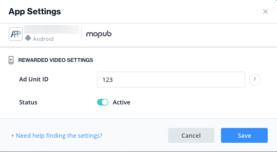 ironsource-mopub-app-settings