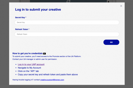 Log in to submit your creative